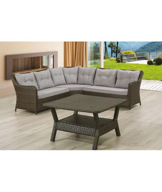 Lotus Lounge Set mit Tisch